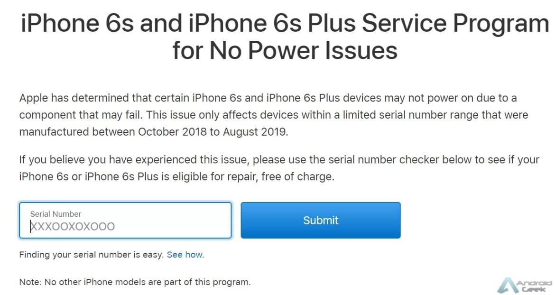 iPhone 6s e 6s Plus da Apple estão a falhar na inicialização. Sabe aqui se o teu está em risco 2