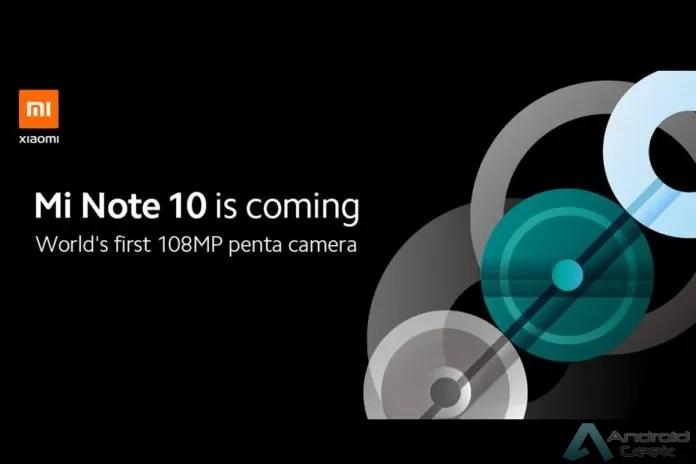 Xiaomi Mi Note 10 Pro vê as suas especificações completas reveladas 2