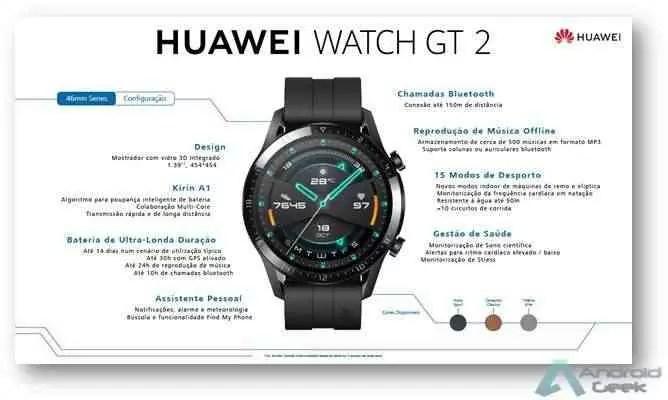 Huawei Watch GT 2 chega com estrondo e estilo a Portugal 4