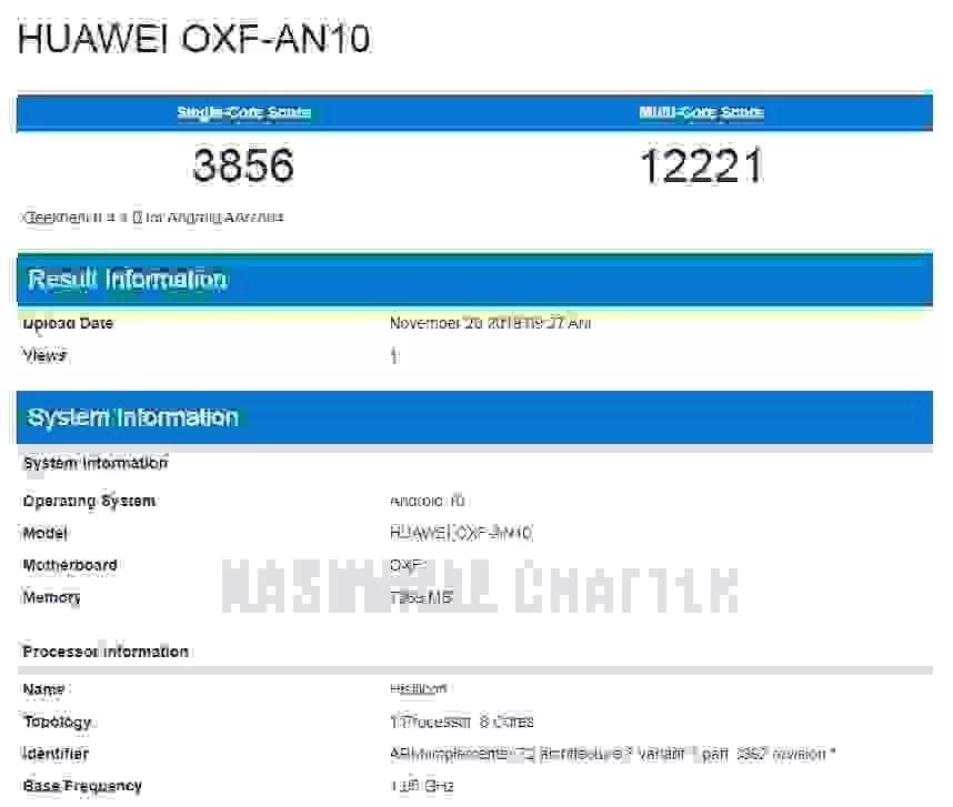 Alegados Honor V30 5G e Huawei MatePad são vistos no Geekbench 2