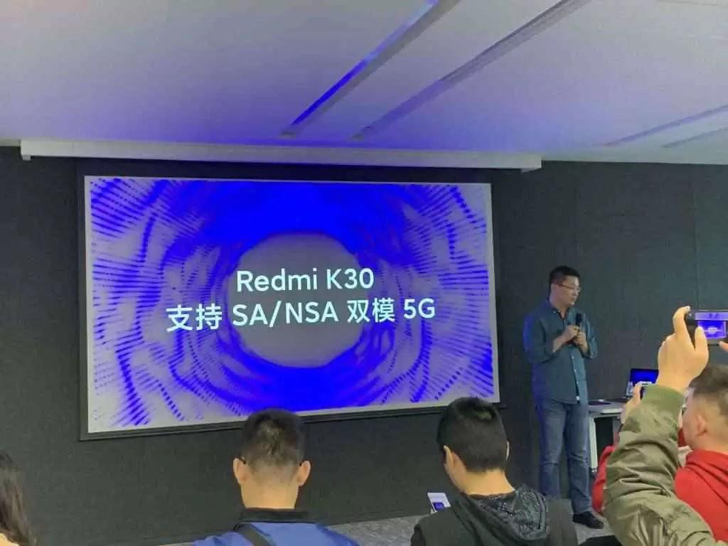 Redmi K30 estreia em dezembro de 2019 segundo Lei Jun 1