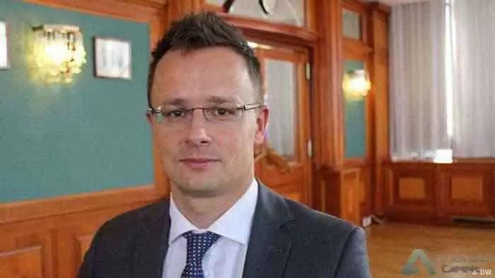 Ministro das Relações Exteriores da Hungria, Peter Szijjarto
