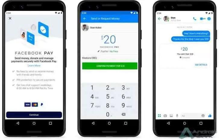 O Facebook Pay é lançado nos EUA, funciona também no Messenger, Instagram e WhatsApp
