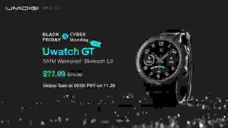 Uwatch GT, o Smartwatch FlagShip da UMIDIGI em 2019, lançado com campanha surpreendente 5