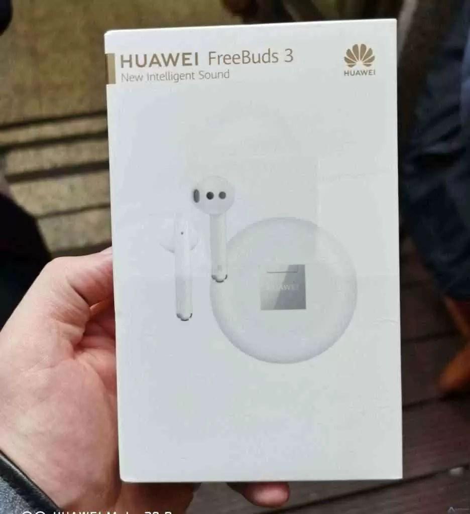 Huawei traz o chipset Kirin A1 para a Índia nesta semana, e FreeBuds 3 logo a seguir 1
