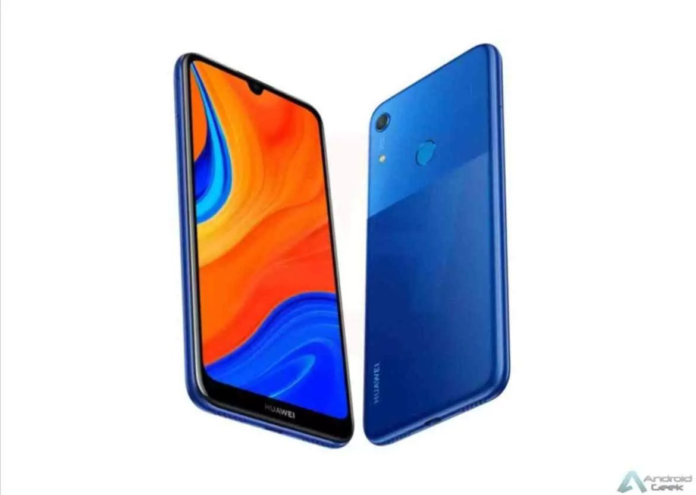 Huawei Y6s foi revelado em render com a imagem de um telefone misterioso 1