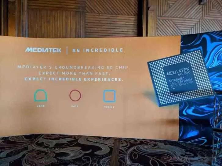 MediaTek anuncia parceria com a Intel para trazer 5G para laptops 2