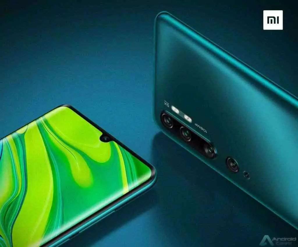 Xiaomi Mi CC9 Pro chega com um sensor de impressão digital avançado no ecrã 1