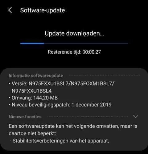 Samsung Galaxy Note10 recebe atualização estável do Android 10