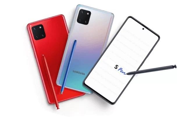 Samsung Galaxy Note10 Lite recebe One UI 2.1 e patch de segurança de abril 1