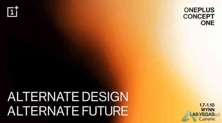 OnePlus 'Concept One poderia ser um smartphone dobrável