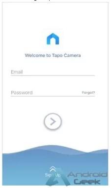 Como criar uma uma conta TP-Link na app Tapo Camera 5