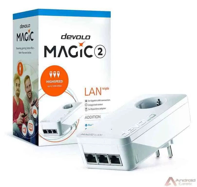 devolo Magic 2 LAN triple é possivelmente o mais rápido Adaptador Powerline com três portas LAN Gigabit 2