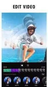 Melhor aplicativo (escolha dos usuários): Editor de vídeo - Glitch Video Effects