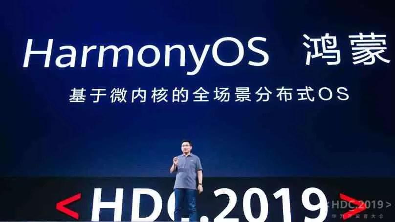 O HarmonyOS será usado em todos os dispositivos Huawei, excepto smartphones, tablets e PCs: Presidente da Huawei 1