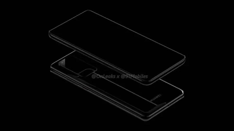 Huawei P40 e P40 Pro primeiros renders , mostram novo design da câmara 4