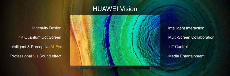 Huawei Vision de 75 polegadas com ecrã de 120Hz já está à venda 1