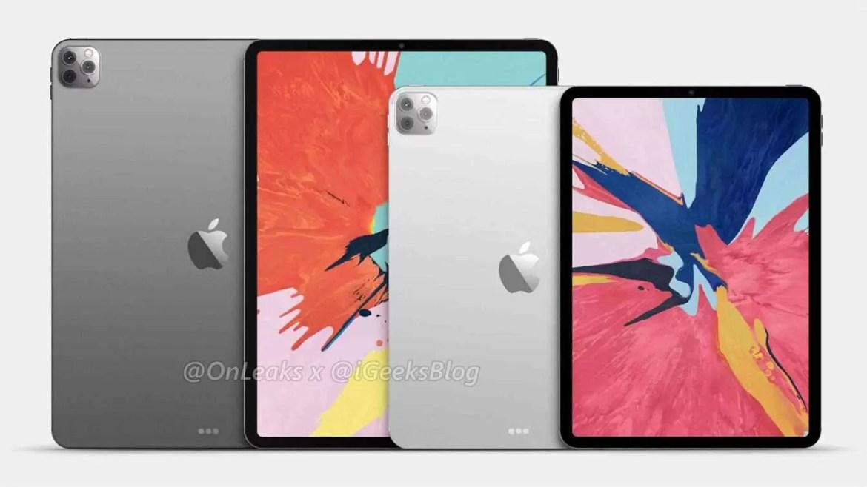 iPad Pro 2020 em destaque