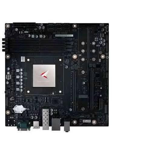 A Huawei tem uma motherboard de desktop equipada com o processador Kungpeng 920 2