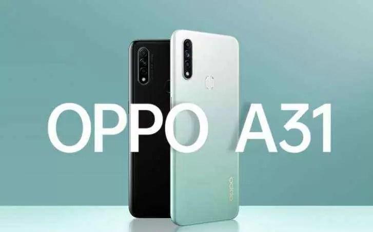 Oppo A31 lançado com ecrã de 6,5 '', Helio P35 e bateria de 4.230 mAh