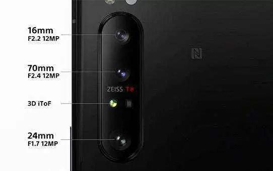 A Sony usa a tecnologia óptica Zeiss em smartphones pela primeira vez - 1