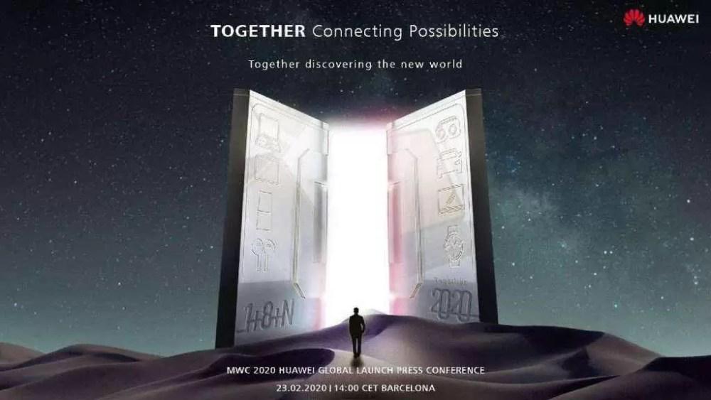 Aparentemente a Huawei é a única a manter a conferência MWC 2020. Mate Xs a caminho 1