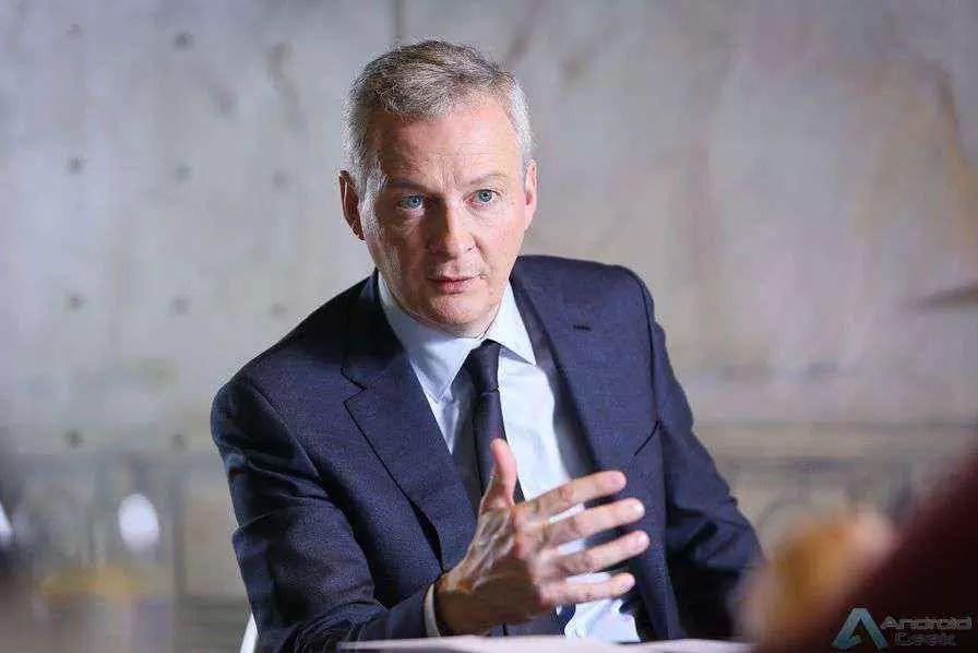 Ministro da Economia e Finanças de França Bruno Le Maire