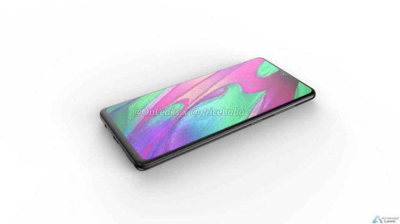 Imagens CAD do Samsung Galaxy A41 revelam câmaras triplas de 48MP 6