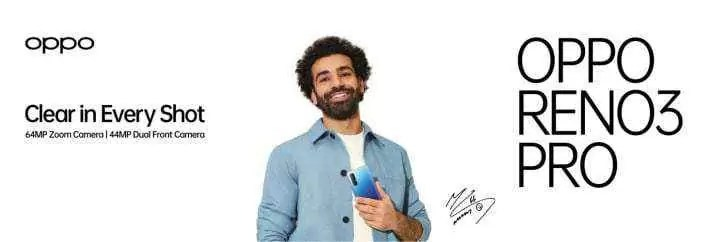 Mohamed Salah, avançado do Liverpool FC, torna-se embaixador da Oppo
