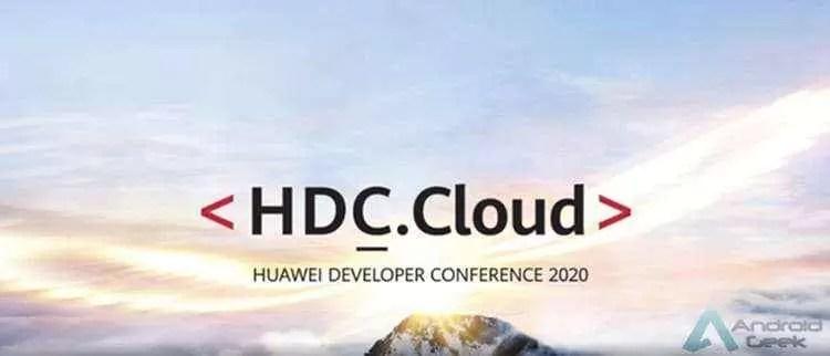 A Huawei Developer Conference 2020 (Cloud) será realizada on-line em 27 de março 1