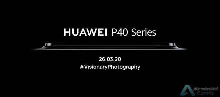 Data de lançamento do Huawei P40 confirmada mais uma vez, terá um enorme impacto na câmara