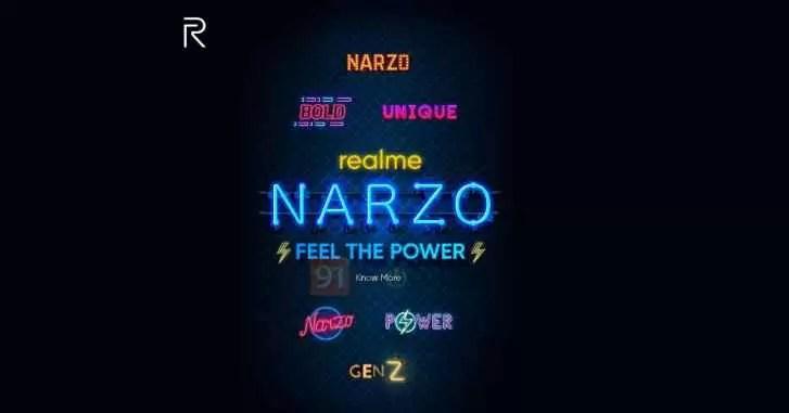 Realme lança nova série de smartphones Narzo para enfrentar Redmi e POCO