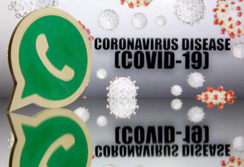 Podem trocar mensagens com um bot do WhatsApp da OMS para tirar dúvida sobre o COVID-19 1