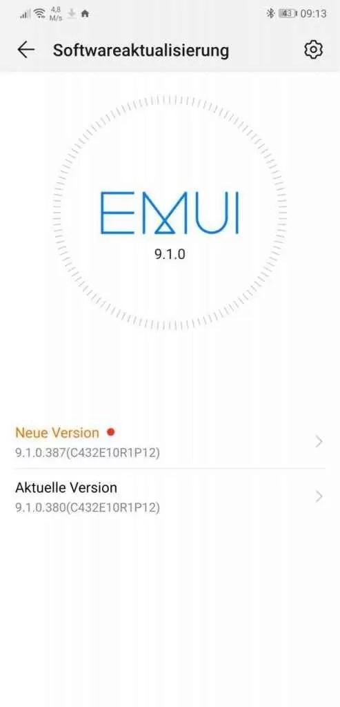 Huawei P20 e P20 Pro começam a receber patch de segurança EMUI de março, EMUI 10 em breve 1