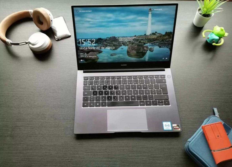 Análise MateBook D 14 (2020) elegante e mais rápido 1