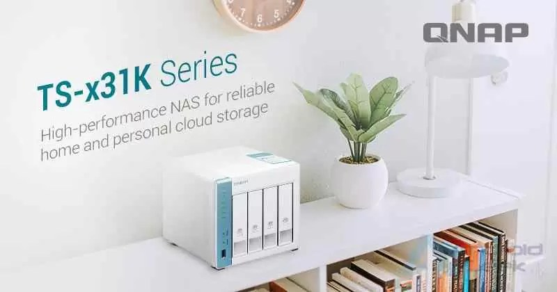 QNAP lança NAS quad-core a 1,7 GHz de alta performance para casa ou escritório 1