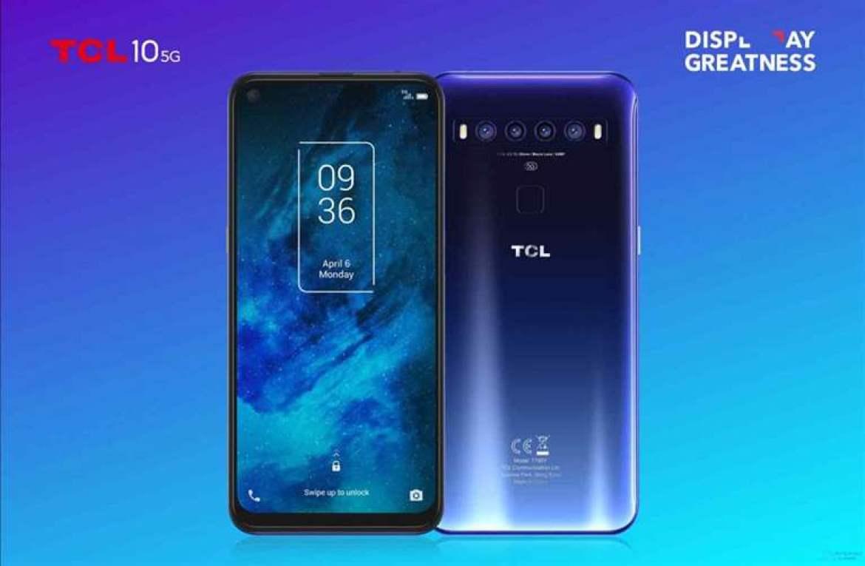 TCL expande a sua gama de telefones com a série TCL 10 12