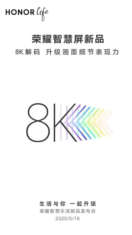 Honor ecrã inteligente X1