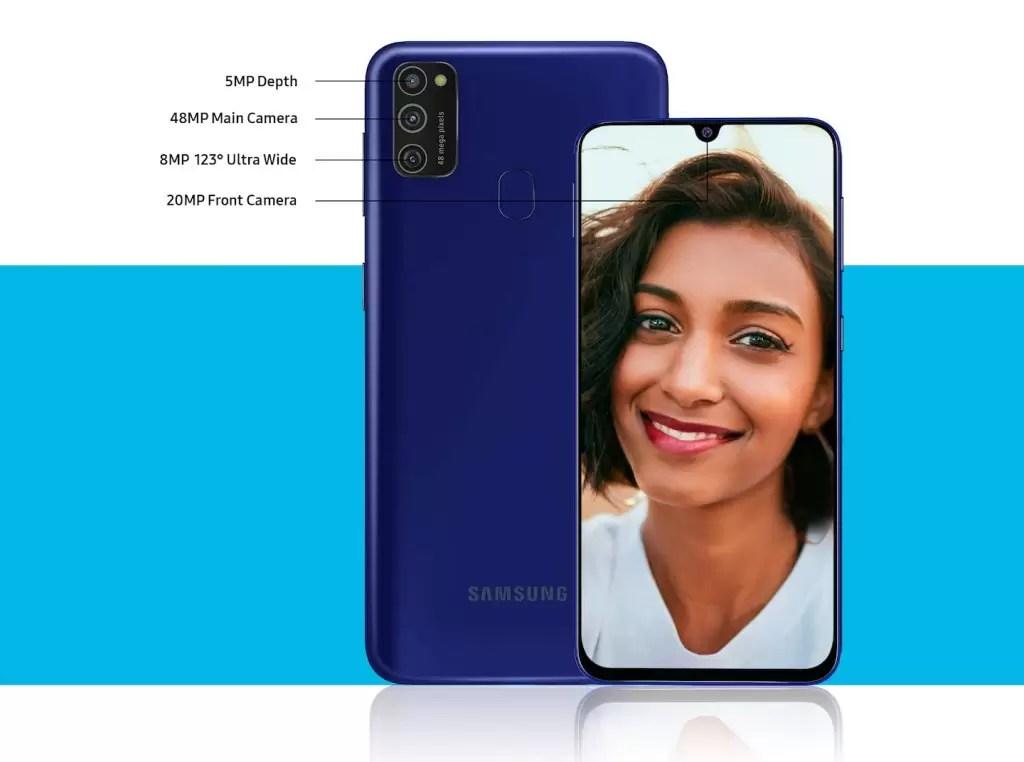 """Análise Samsung Galaxy M21 ecrã SUPER AMOLED de 6.4"""" e Tripla câmara por um preço arrebatador 14"""