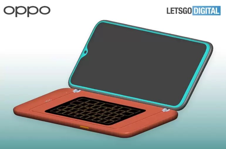 Oppo QWERTY Keyboard Case Patent Destaque