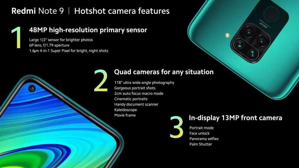 Redmi Note 9 estreia-se com Helio P85, quad-cameras e bateria de 5.020mAh 2
