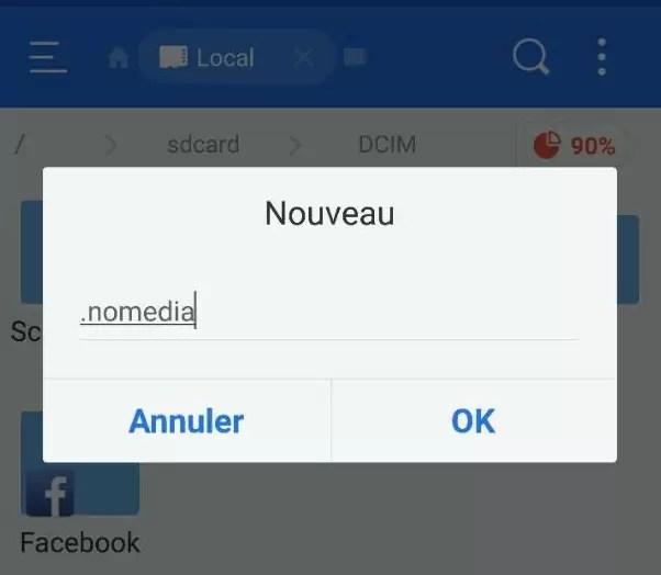 Como ocultar uma foto ou álbum no Android sem recorrer a uma aplicação 2