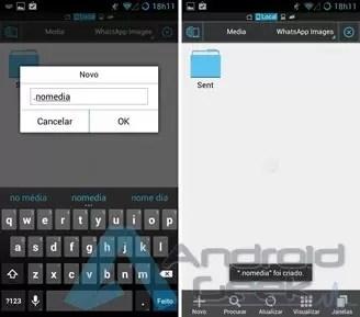 Como ocultar uma foto ou álbum no Android sem recorrer a uma aplicação 1