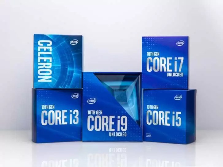 Intel lança processadores de desktop Comet Lake de 10ª geração