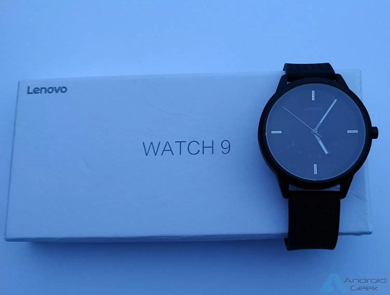 Já conhecem o Lenovo Watch 9 um smartwatch clássico com bateria para 240 dias! 4