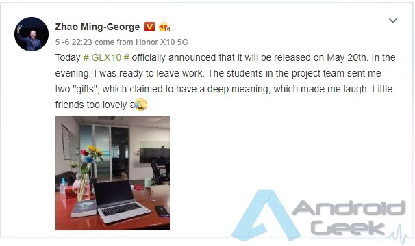 Laptop da Huawei com AMD Ryzen 7 4800H visto online pode ser o novo modelo Honor MagicBook 1