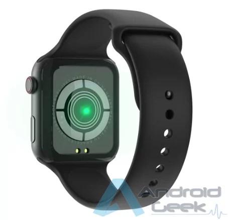 Smartwatch com integração Facebook Whatsaap etc por 20.36€. Vejam o F10 IP67 2