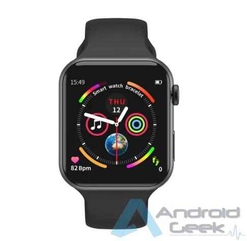 Smartwatch com integração Facebook Whatsaap etc por 20.36€. Vejam o F10 IP67 4