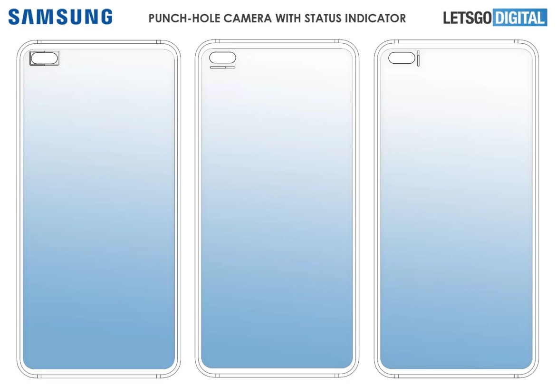 Indicador de status da câmara para smartphone Samsung