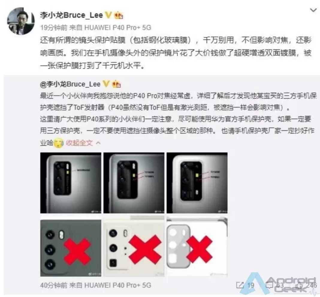 Têm um Huawei P40 Pro? Aqui está o que não devem fazer 2